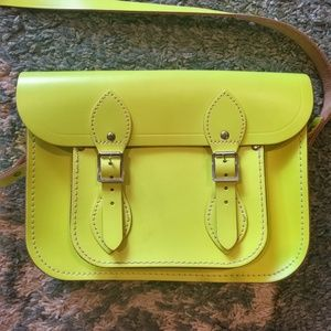 THE CAMBRIDGE SATCHEL COMPANY YELLOW SATCHEL/BAG